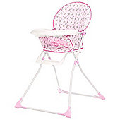 Obaby Munchy Highchair - Tiny Tatty Teddy Pink