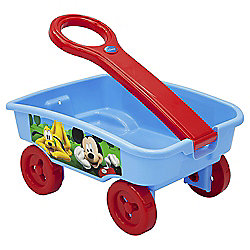 Disney Mickey Mouse Pull Along Wagon