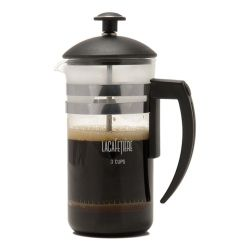 La Cafetiere Havana 3 Cup Cafetiere in Black