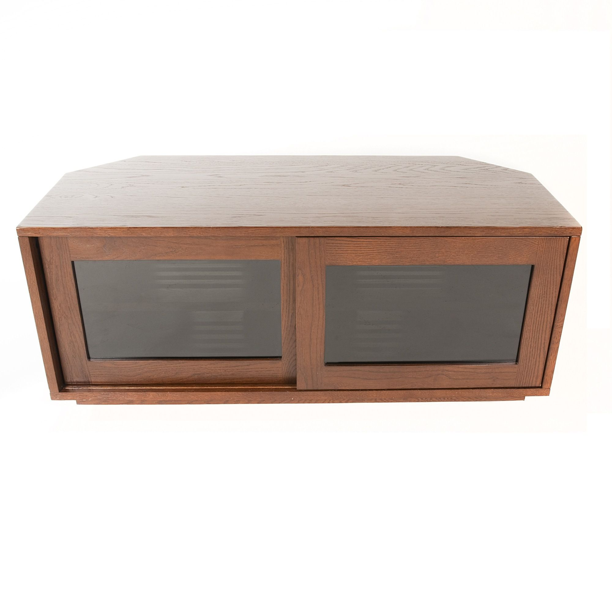 Optimum Coruna TV Stand up to 50'' TV's - Warm Oak at Tesco Direct