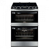 ZCI68300XA A Rated Freestanding Double Electric Cooker in Stainless Steel
