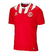 2013-14 Seville Away Football Shirt - Red
