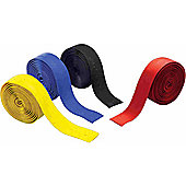 Acor Eva Foam / Soft Gel Handlebar Tape: Yellow.