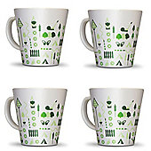 Bewdley Melamine Mug (Pack of 4)