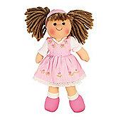 Bigjigs Toys 28cm Doll BJD007 Rose