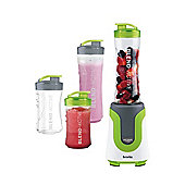 Breville Blend-Active Family Blender Green/White 0.6 Litre Capacity VBL096