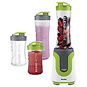 Breville Blend Active Family Blender, VBL096, 300W - White & Green