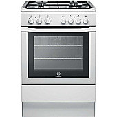 Indesit Gas Cooker with Gas Grill and Gas Hob, I6GG1(W)/UK - White