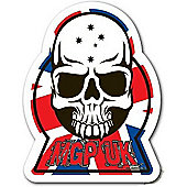 Madd Gear MGP UK Skull Sticker
