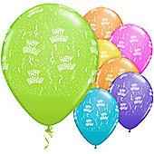 11' Birthday Around Assortment (25pk)
