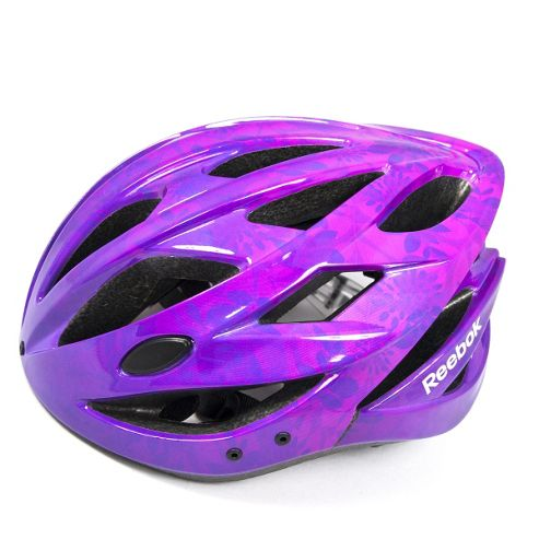 Reebok Teen Cycling Helmet Purple