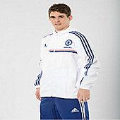 2013-14 Chelsea Adidas Presentation Jacket (White) - White