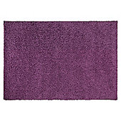 Tesco Alpine Shaggy Rug Heather 120X170Cm