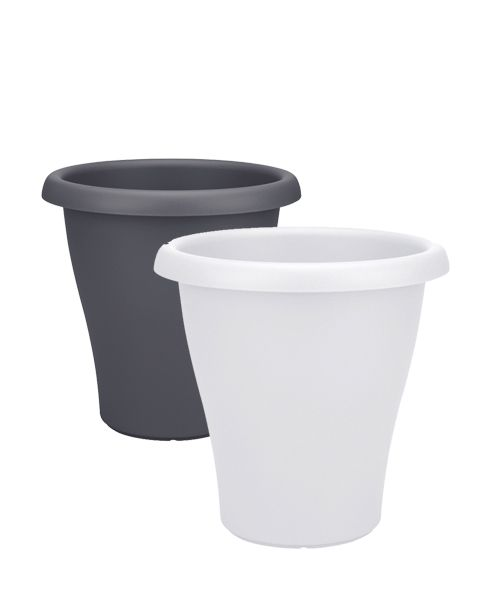 Tall plastic pot