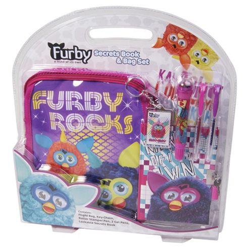 Furby Secrets Book Set In A Bag