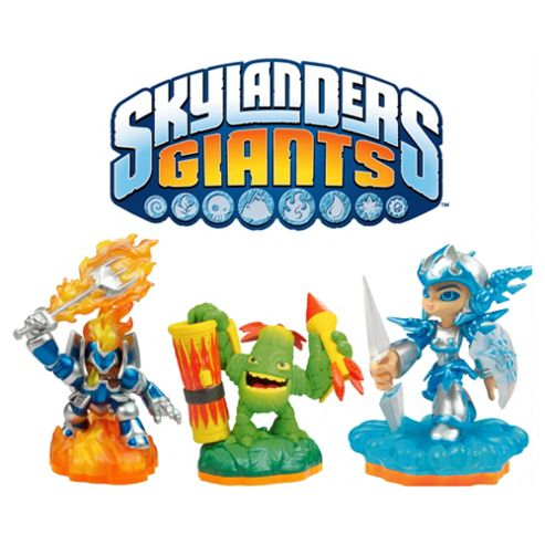 Cheapest Skylanders Giants Triple Pack Includes Gill Grunt on Xbox 360