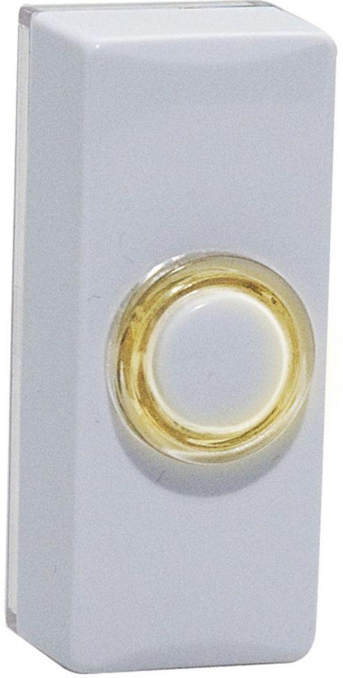 Byron 7730 Glow Bell Push White