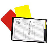 Precision Training Football Rugby Referees Note Book Pad
