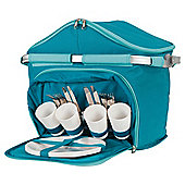 Tesco Aluminium Frame Picnic Basket 4 Person