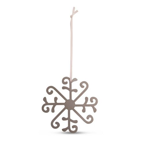 Large Metal Christmas Tree Decoration Snowflake Design B