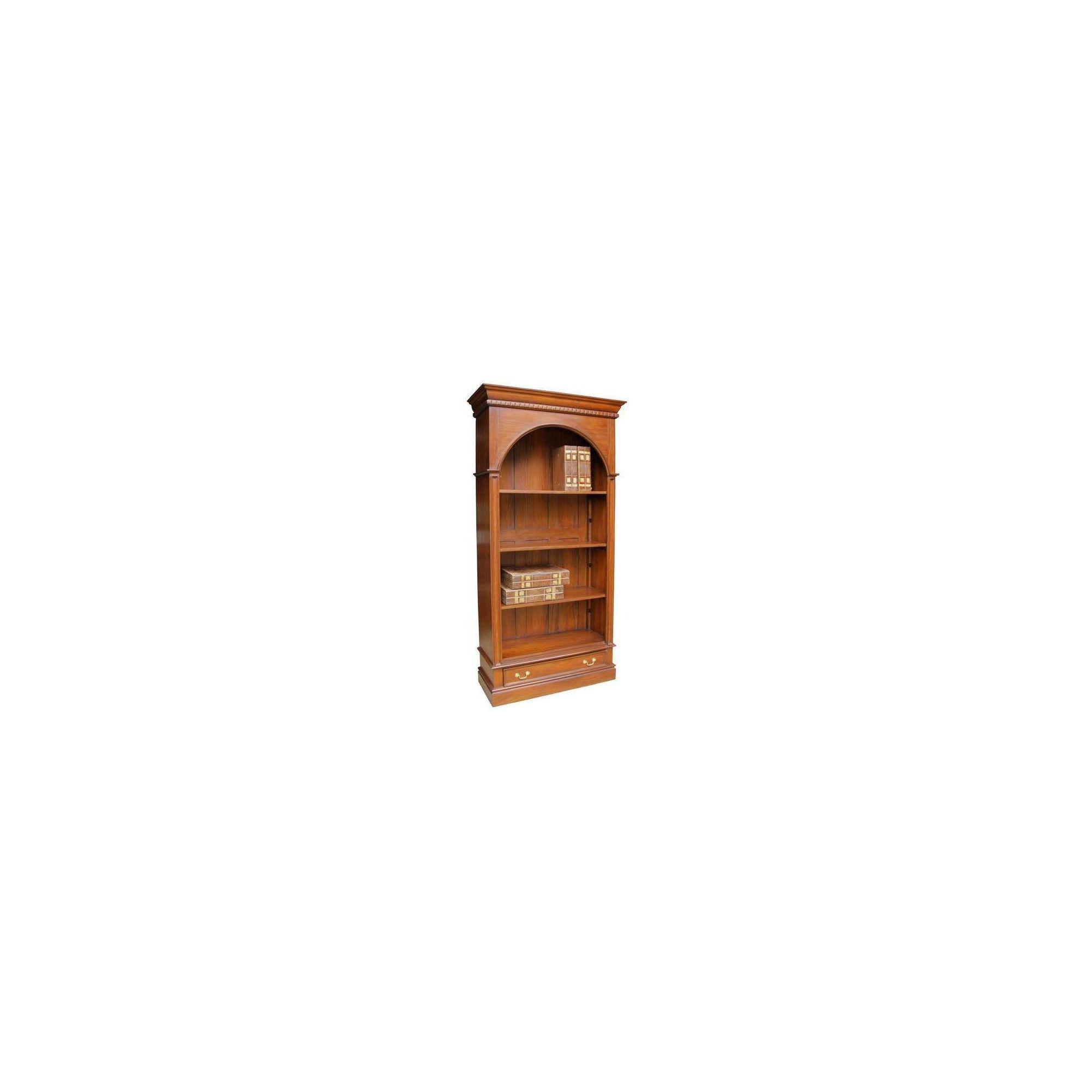 Lock stock and barrel Mahogany Arch Bookcase in Mahogany at Tesco Direct