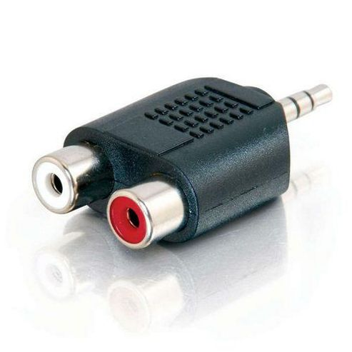 Cables to Go Stereo/Dual RCA Adapter