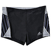 adidas Inspiration Mens Swimming Boxer Aquashort Black - Black