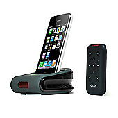 Dexim Av Dock Station With Remote For Apple Iphone 3gs / 3g.