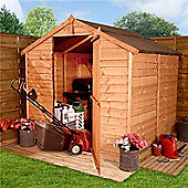 BillyOh 20 6 x 6 Windowless Rustic Overlap Apex Shed