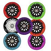 Slamm Nylon Core Wheel + Bearings Black / Green