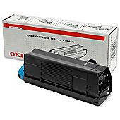 OKI Type C6 Toner Cartridge for C5100/C5300 Colour Printers (Black)
