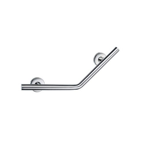 Smedbo Living V-Form Grab Bar in Polished Stainless Steel
