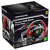 Ferrari 458 Spider Replica Racing Wheel and The Crew (Xbox One)