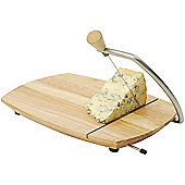 T&G Woodware Ltd Scimitar Cheese Board with Wire Cutter