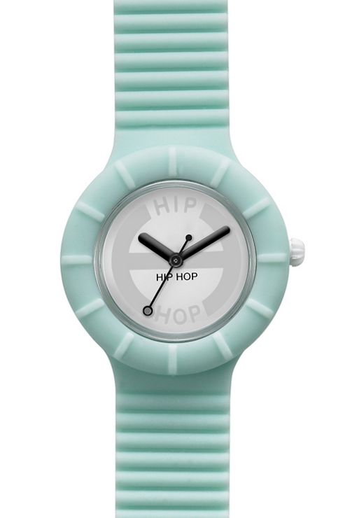 Hip Hop Unisex Hero Aquamarine Strap Watch HWU0092