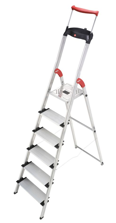 Hailo 303cm XXR ComfortLine Aluminium Safety Household Ladder