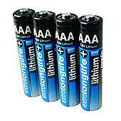 Maplin Extra Long Life Lithium AAA Batteries 1.5V 4Pack
