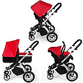 ickle bubba Stomp V1 All-in-One Travel System (Red)