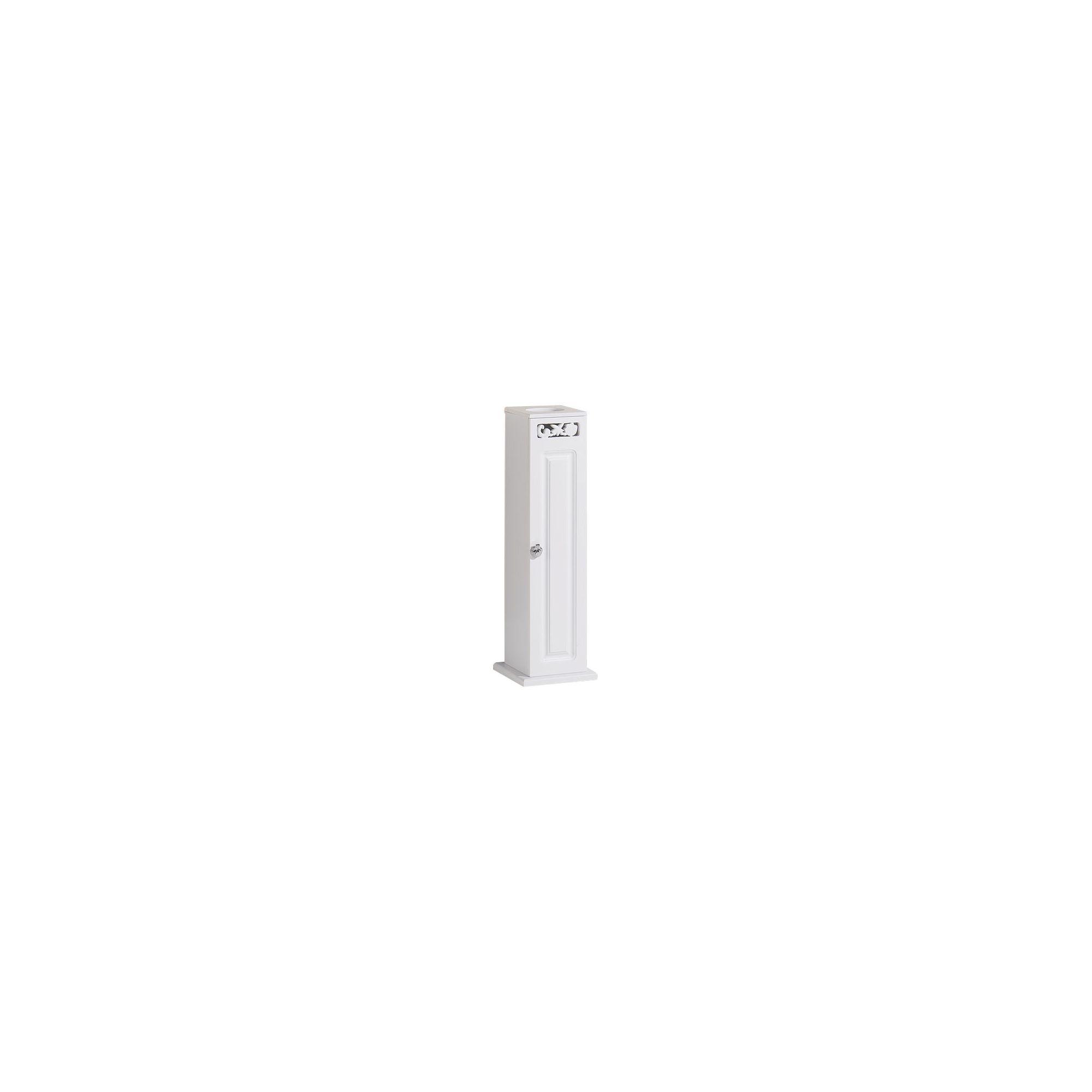 Mountrose Corella Toilet Roll Cupboard in White