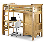 Bedsitter Bunk Style Childrens Bed