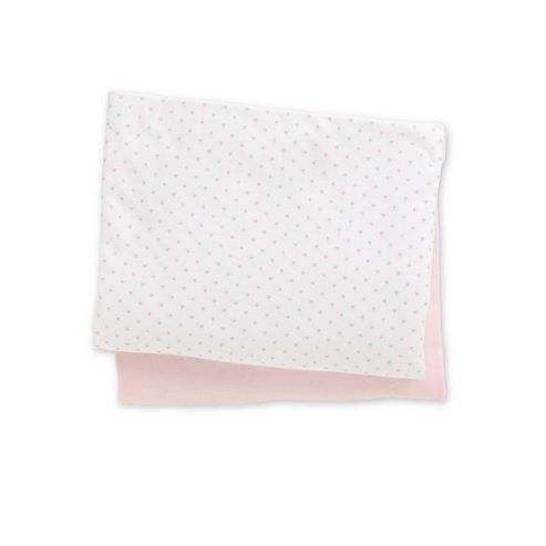 Mothercare Jersey Fitted Cot Bed Sheets- 2 Pack Pink