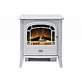 Dimplex 2 Kilowatt Courchevel Traditional Freestanding Electric Stove, White Finish