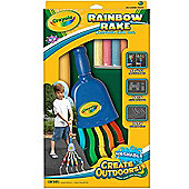 Crayola Rainbow Rake And Sidewalk Crayons