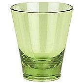 Spirella Max-Light Acrylic Tooth Mug Tumbler - Olive