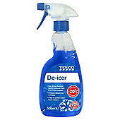 Tesco Trigger De-Icer 500ml - Improved Specification