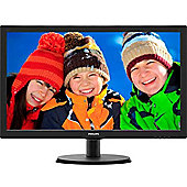 Philips 223V5LSB2 21.5 Full HD LED LCD Monitor Resolution 1920 x 1080 Contrast Ratio 600:1 5ms Response Time Aspect Ratio 16:9 VGA Connectivity