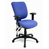 Energo Pump Height Adjustable Chair - Blue