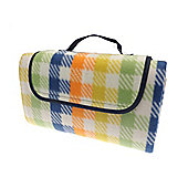 Country Club Picnic & Beach Blanket 130 x 150cm, Multi Check
