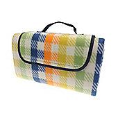 Country Club Picnic & Beach Blanket 130 x 150cm, Multi Check