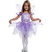 Child Purple Fairy Fancy Dress Costume